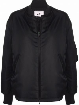 Черная куртка атласная Y-3