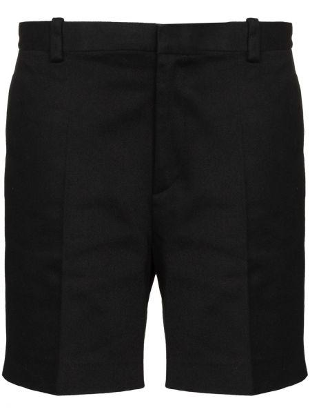 Черные хлопковые шорты Marc Jacobs