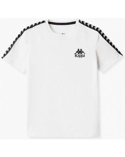 Белая спортивная футболка Kappa