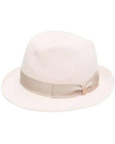 Beżowa czapka Borsalino