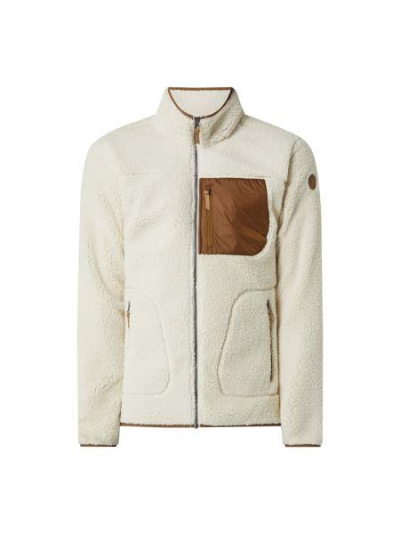 Biała kurtka na rzepy Icepeak