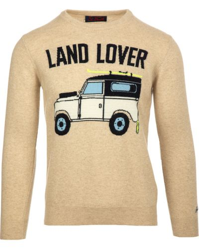 Beżowy sweter Mc2 Saint Barth