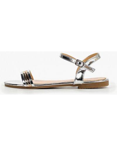 Сандалии серебряный Style Shoes