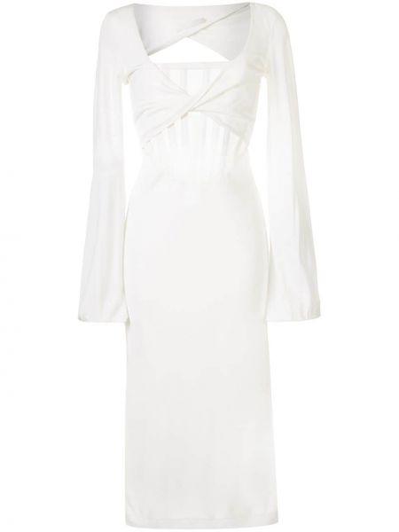 Платье миди со вставками с рукавами Dion Lee
