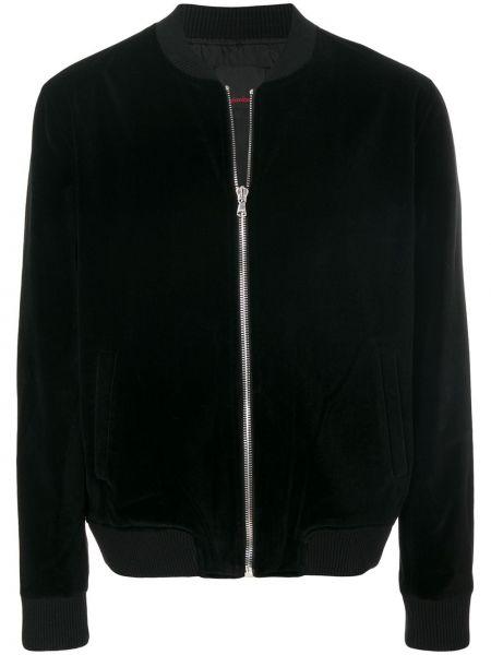 Черная куртка с вышивкой Intoxicated