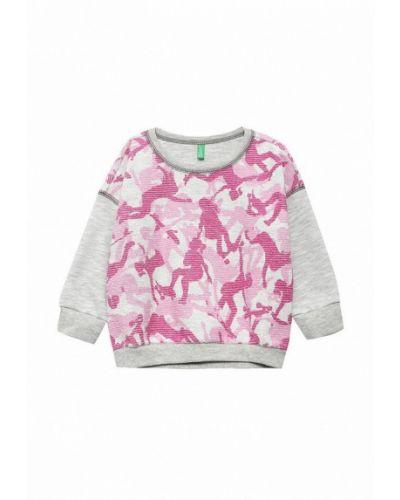 Розовый свитер United Colors Of Benetton