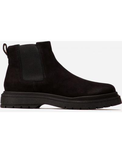 Ботинки челси - черные Badura