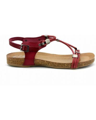 Czerwone sandały Porronet