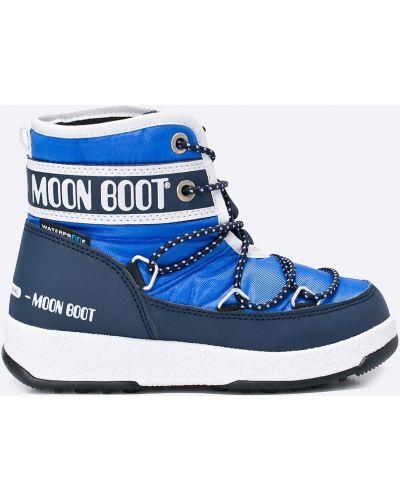 Сапоги синие Moon Boot