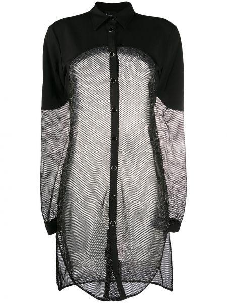 Длинная рубашка из вискозы Just Cavalli
