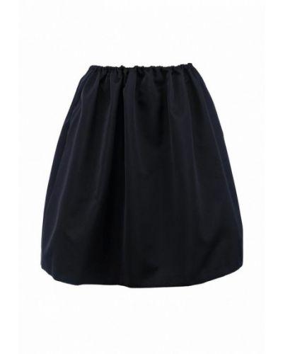 Синяя юбка мини Jil Sander Navy