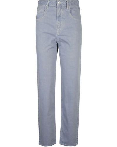 Spodnie casual - szare Isabel Marant Etoile