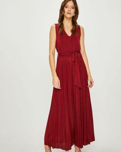 Платье макси на молнии трикотажное Answear