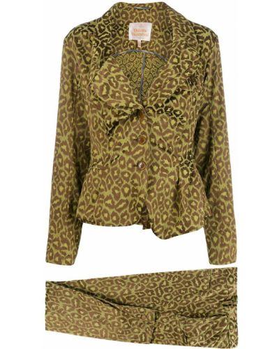 Костюмный костюм на пуговицах с поясом Vivienne Westwood Pre-owned