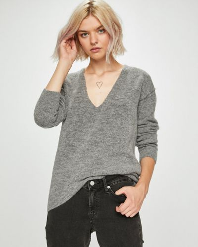 Прямые джинсы укороченные серый Guess Jeans