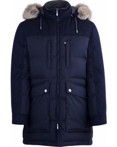 Куртка шерстяная шелковая Brunello Cucinelli