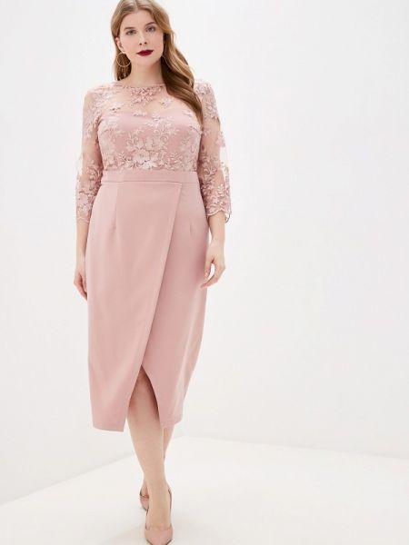 Розовое вечернее платье Mankato