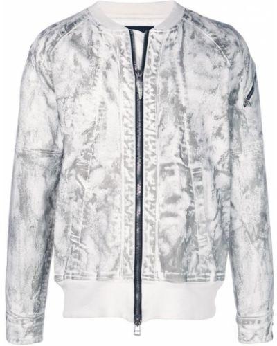 Белая куртка с рукавом реглан Fagassent