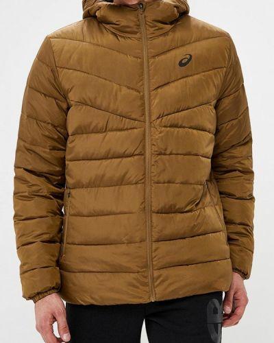 Утепленная куртка демисезонная осенняя Asics