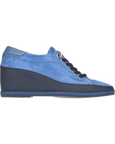 Туфли на каблуке замшевые кожаные Pakerson