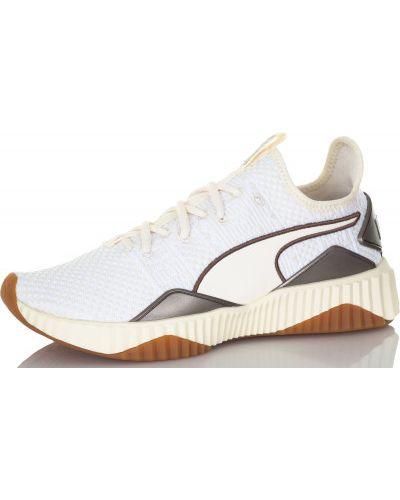 Кроссовки для бега на шнуровке мембранные Puma