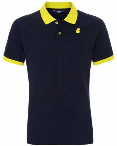 Niebieska koszulka K-way