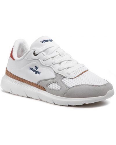 Białe sneakersy Wrangler