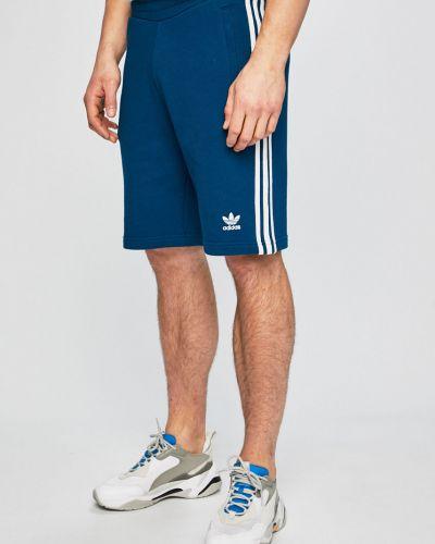 Шорты прямые на резинке Adidas Originals