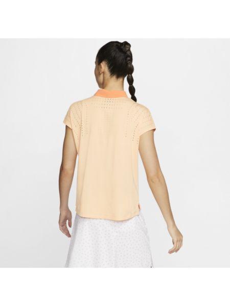 T-shirt - pomarańczowa Nike