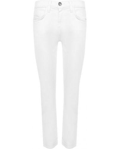Прямые джинсы укороченные белые Current/elliott