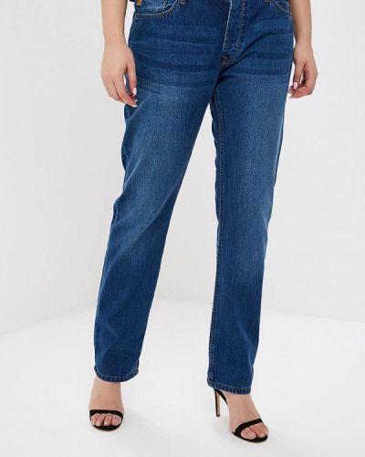 Прямые джинсы синие Tiffosi