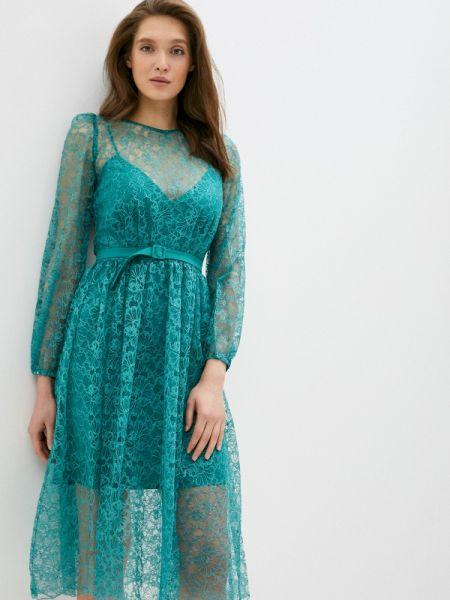Бирюзовое вечернее платье Gorchica