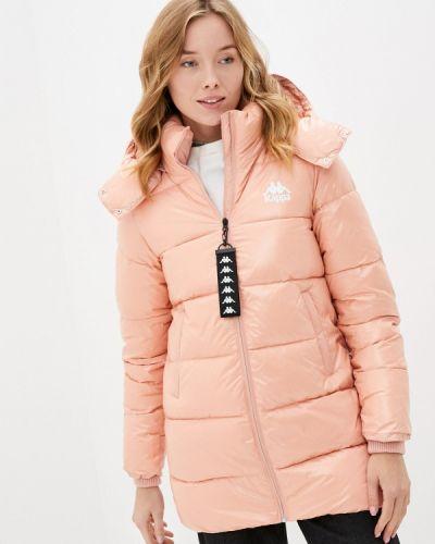Утепленная куртка - розовая Kappa