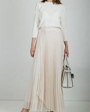 Белое повседневное платье Peserico