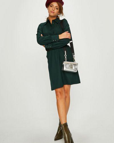 Расклешенное платье мини с карманами G-star Raw