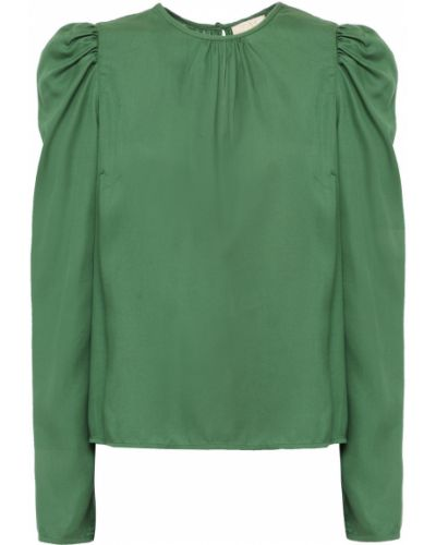 Zielona bluzka z wiskozy Bytimo