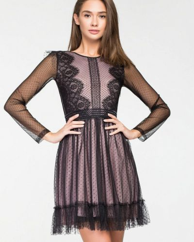 Вечернее платье осеннее розовое Itelle