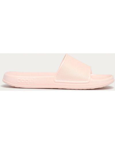Różowe sandały Coqui