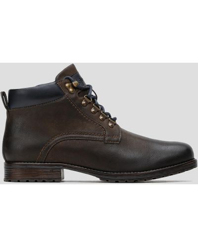 Ботинки - коричневые Lanetti