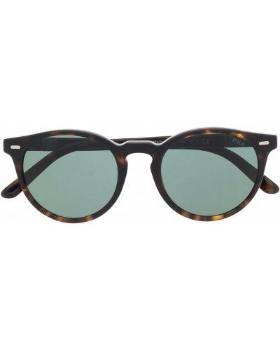 Okulary srebrne - zielone Polo Ralph Lauren