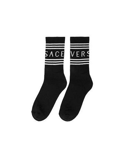 Носки черные Versace