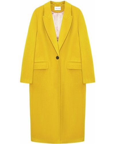 Длинное пальто шерстяное с воротником I Am  Studio