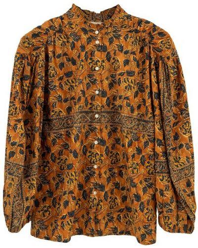 Brązowa bluzka Antik Batik