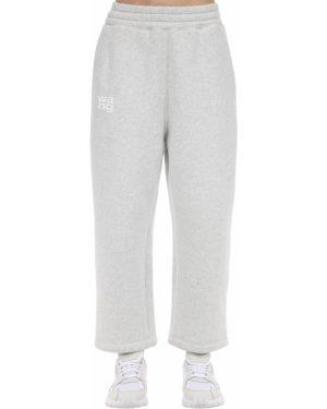 Спортивные брюки на резинке с карманами Alexander Wang