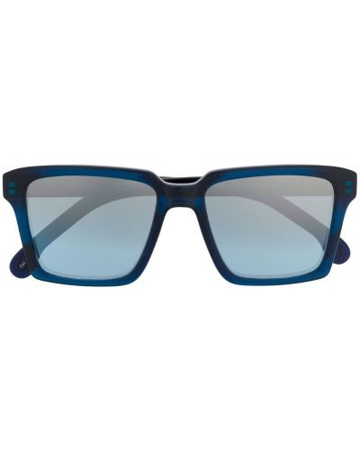 Солнцезащитные очки синий хаки Paul Smith Eyewear