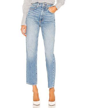 Прямые джинсы с карманами на пуговицах Slvrlake