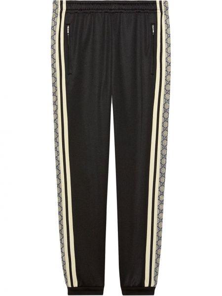 Bawełna bawełna czarny majtki na gumce Gucci