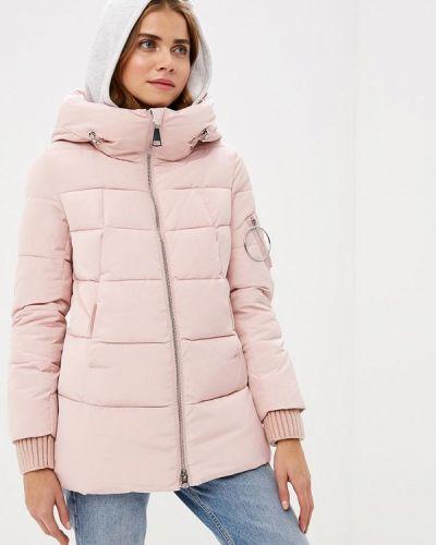 Утепленная куртка - розовая Clasna
