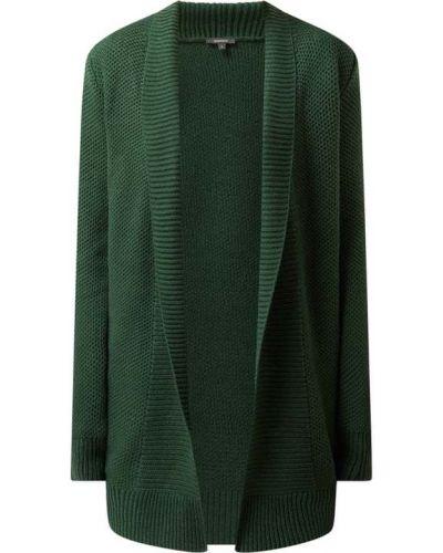 Zielony sweter bez zapięcia Montego