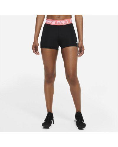Текстильные черные шорты Nike